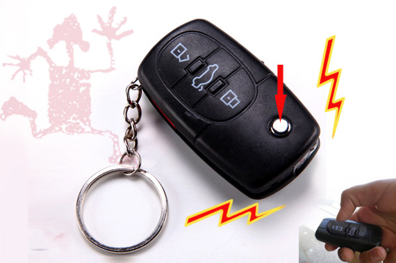 FREE Ozstock Day: 2x Car Key Shaped Electric Shock Prank Toy