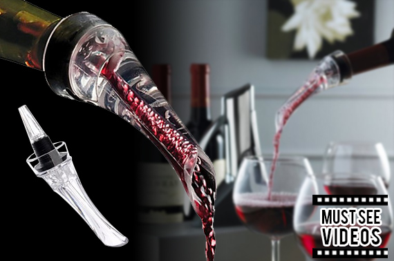 Wine Decanting Aerating Pourer