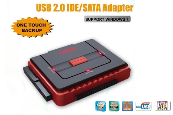 UNITEK USB 2.0 to IDE and SATA Converter