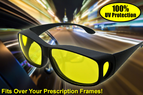 HD Vision Wrap-Arounds Sunglasses - UV Protection