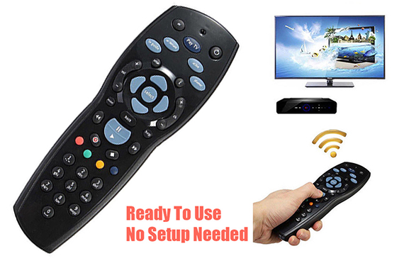 TV Remote Control Replacements Foxtel/PayTV/Sky New Zealand/MyStar Black