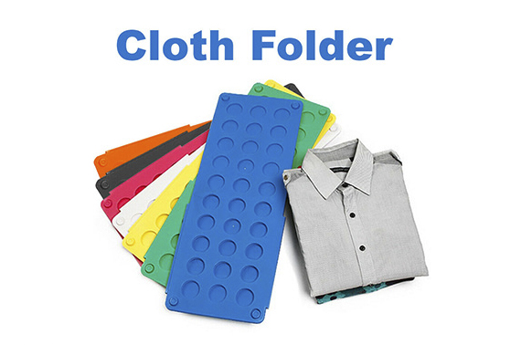 Clothes T Shirt Top Folder Magic Folding Board Flip