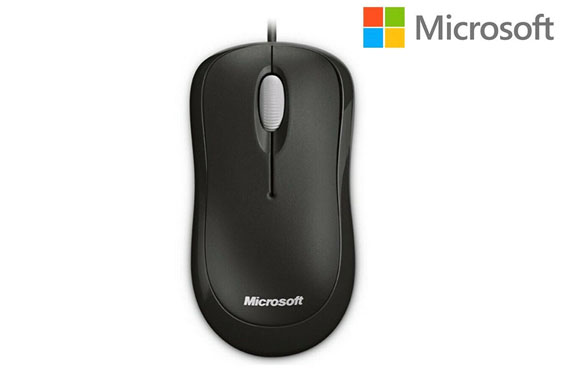 Microsoft Wired Basic USB Optical Mouse for Business