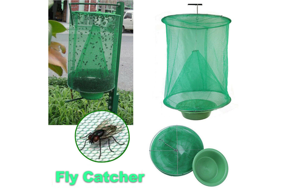 Reusable Hanging Fly Catcher Flytrap Net Trap