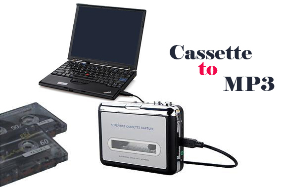 USB Cassette-to-MP3 Converter