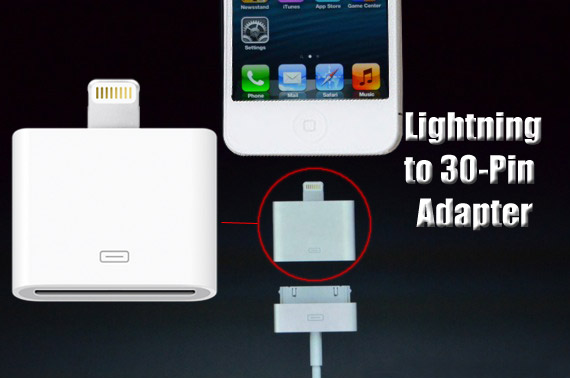 Compatible Lightning to 30-pin Adapter for iPhone 5/iPad Mini