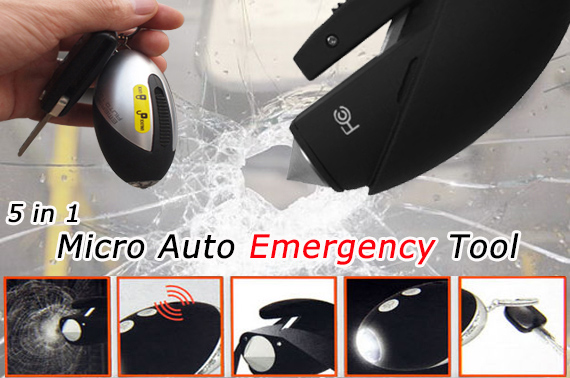 5 in 1 Micro Auto Emergency Tool