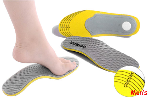All Size Arch Support Shoe Insoles For Men