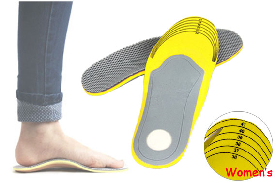 All Size Arch Support Shoe Insoles For Women