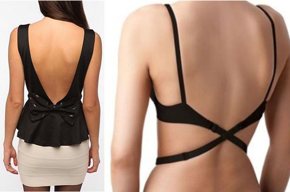 3x Womens Low Back Bra Strap Converter/Extender for Backless