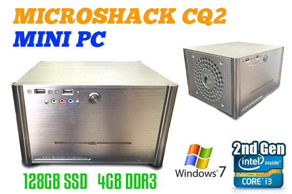 Refurbished Microshack CQ2 Essential Media Mini PC