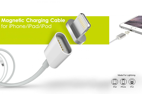 Magnetic Charging Cable for iPhone/iPad/iPod