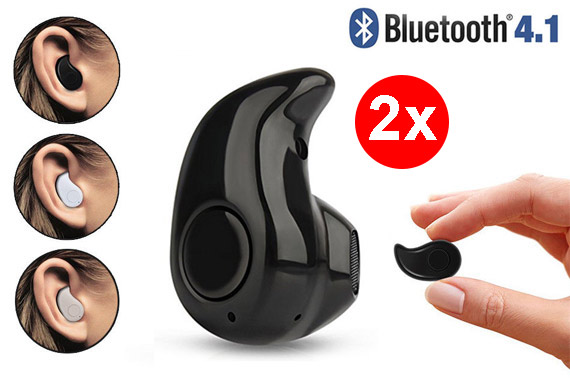 Mini Wireless Bluetooth 4.1 In-ear Headset