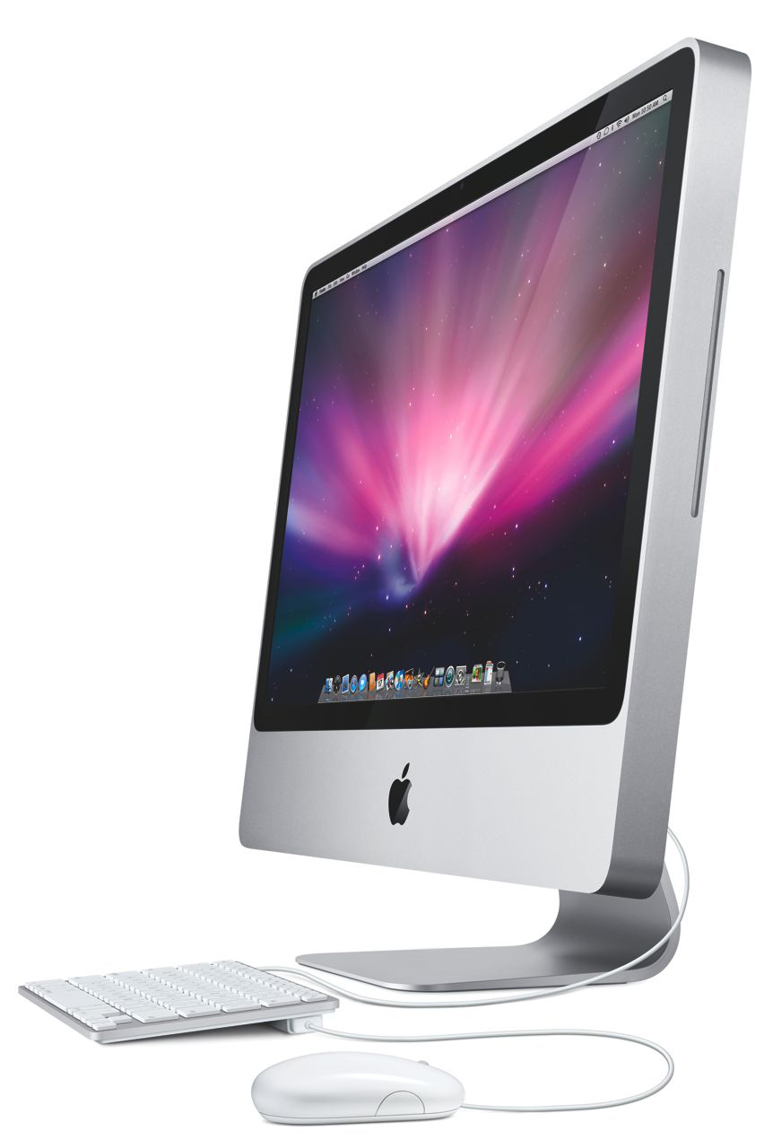 super deal ex lease apple imac a1225 all in one desktop. Black Bedroom Furniture Sets. Home Design Ideas