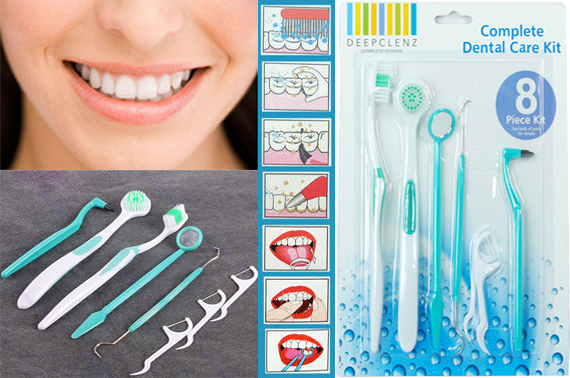 8 Piece Dental Care Kit