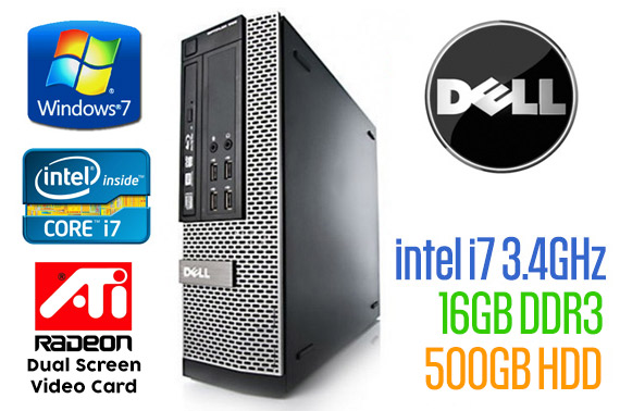Ex-Lease DELL OptiPlex 990 SFF Desktop
